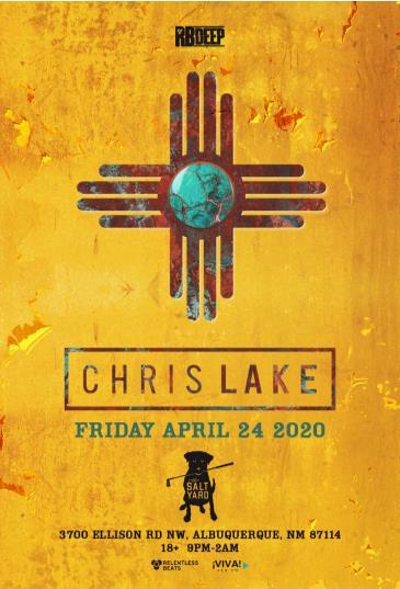 Postponed - Chris Lake: Main Image