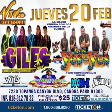 LOS GILES  Y  YES-YES