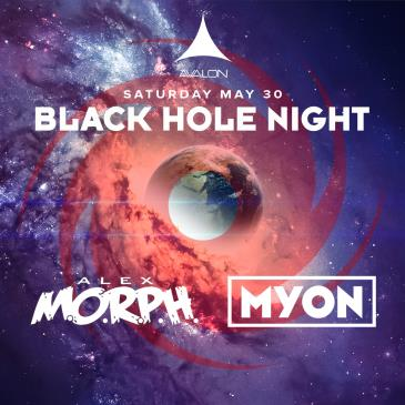 BLACK HOLE NIGHT: ALEX M.O.R.P.H. + MYON: Main Image
