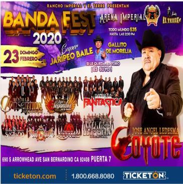 EL COYOTE/FANTASTICA/IMPERIO: Main Image