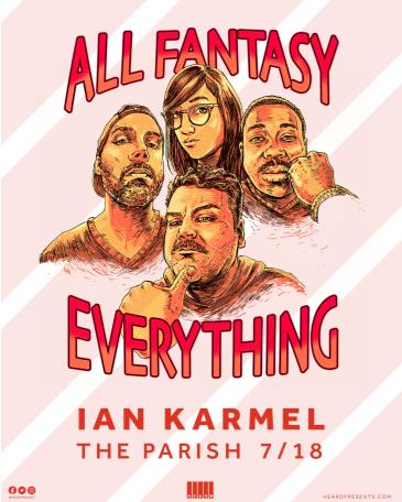 Ian Karmel: All Fantasy Everything Podcast: Main Image