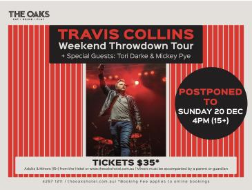 Travis Collins - Weekend Throwdown Tour + Special Guests: Main Image