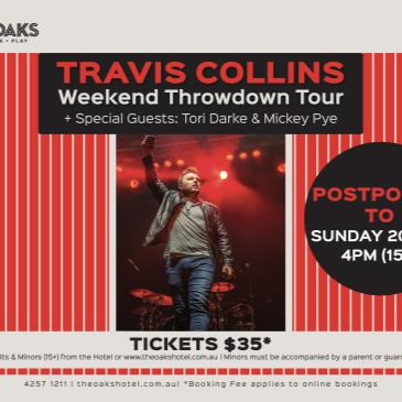 Travis Collins - Weekend Throwdown Tour + Special Guests