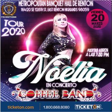 CANCELED NOELIA TOUR 2020: Main Image