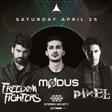 FREEDOM FIGHTERS, MODUS, PIXEL-img