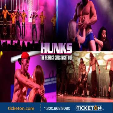 NOCHE HOT CON HUNKS THE SHOW