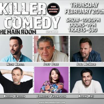 Killer Comedy- Nick Kroll, Joey Diaz, Patton Oswalt, Callen-img