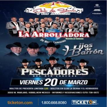 CANCELADO/LA ARROLLADORA BANDA EL LIMON: Main Image