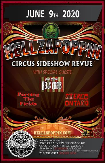 HELLZAPOPPIN CIRCUS SIDESHOW REVUE: Main Image