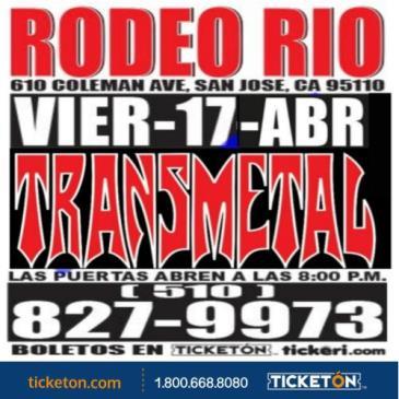 POSTPONED TRANSMETAL USA TOUR XXX111-2020: Main Image