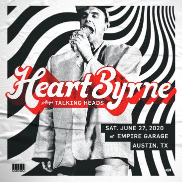 HeartByrne: Talking Heads Tribute (Postponed from 4/11): Main Image