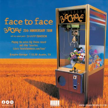 Face To Face: Big Choice 25th Anniversary-img
