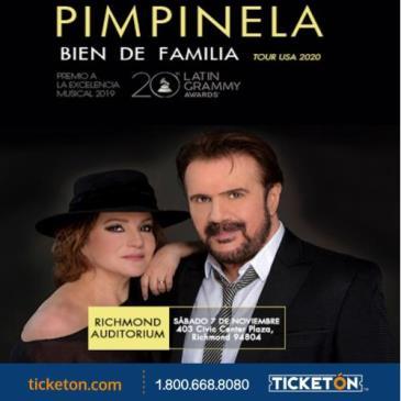 PIMPINELA - TOUR BIEN DE FAMILIA