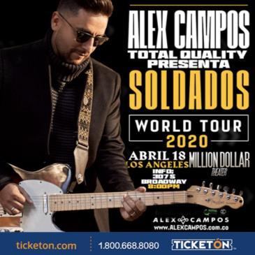 ALEX CAMPOS - SOLDADOS TOUR 2020
