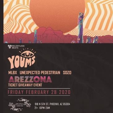 Youms - Arezzona Ticket Giveaway Event-img