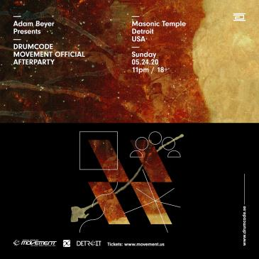 Adam Beyer Presents: Drumcode Official Movement Afterparty: Main Image