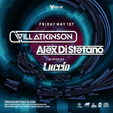 Will Atkinson + Alex Di Stefano @ Treehouse Miami: Main Image
