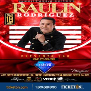 POSTPONED  RAULIN RODRIGUEZ: Main Image