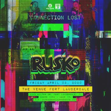 Rusko - FORT LAUDERDALE (CANCELLED): Main Image