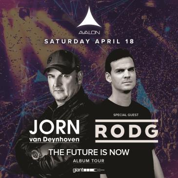 THE FUTURE IS NOW: Jorn Van Deynhoven + Special Guest: Rodg-img