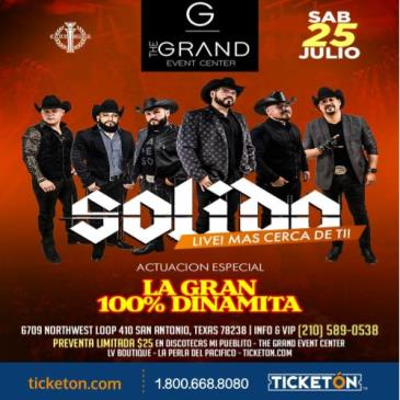 CANCELED GRUPO SOLIDO & LA SONORA: Main Image