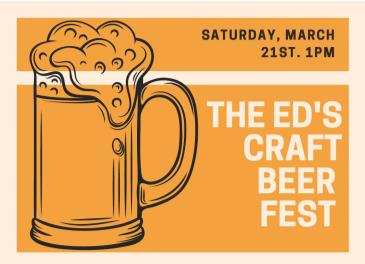 THE ED CRAFT BEER FESTIVAL: Main Image