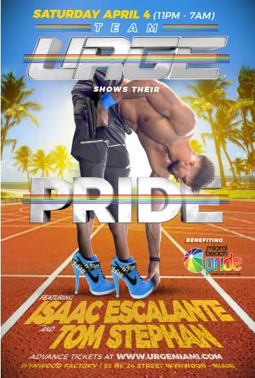 URGE Pride with Isaac Escalante and Tom Stephan (CANCELED): Main Image