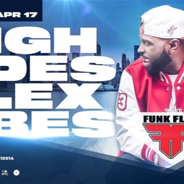 FUNK FLEX presents HIGH TIDES FLEX VIBES on Hornblower' INFI-img