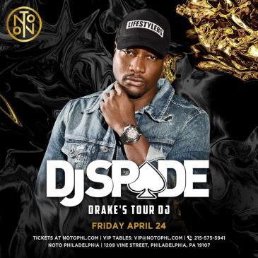 DJ Spade: Main Image