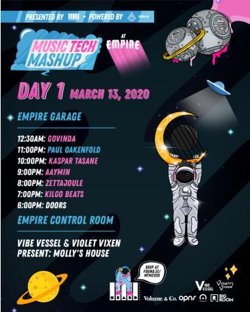 Music Tech Mashup Day 1 feat. Paul Oakenfold: