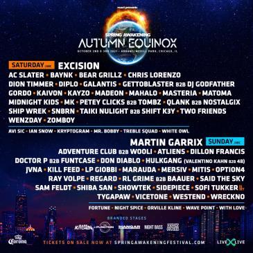 Spring Awakening 2021: Autumn Equinox: