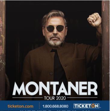 RICARDO MONTANER -MONTANER TOUR 2020: Main Image