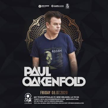 Paul Oakenfold - NEW ORLEANS (CANCELLED): Main Image