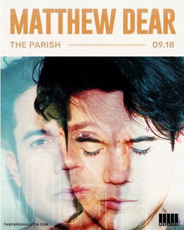 Matthew Dear (DJ Set) w/ Phamstar: