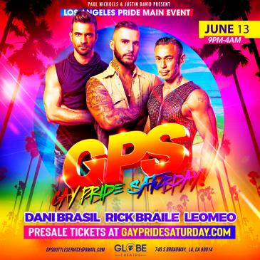 GPS: GAY PRIDE SATURDAY!: Main Image