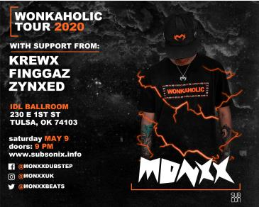 Monxx - IDL Ballroom (Tulsa) - CANCELLED: Main Image
