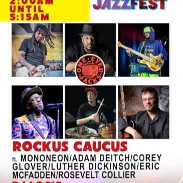ROCKUS CAUCUS(Mononeon/Deitch/Glover/Luther) (Postponed TBA)-img