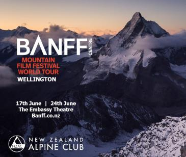 Banff Mountain Film Festival World Tour 2020 Wellington Blue: Main Image