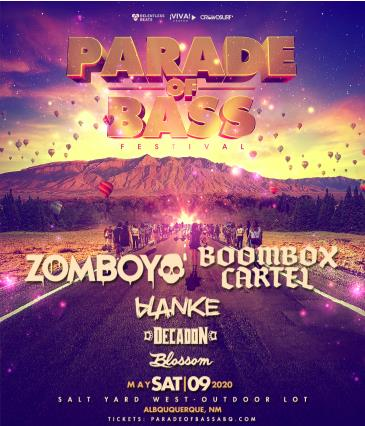 Postponed - Parade of Bass ABQ: Main Image