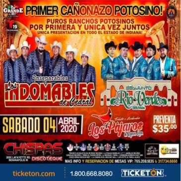 CANCELADO/LOS INDOMABLES DE CEDRAL: Main Image