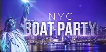 NYC #1 Boat Party around Manhattan - Saturday Night Cruise: Main Image