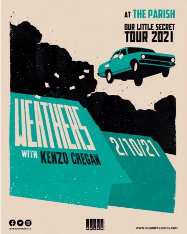 Weathers: Our Little Secret Tour w/ Kenzo Cregan: Main Image