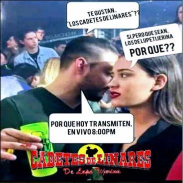 LIVE - LOS CADETES DE LINARES