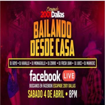 LIVE - BAILANDO DESDE CASA