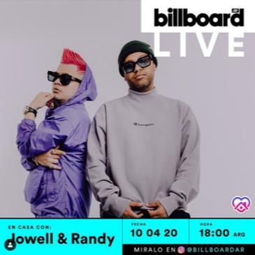 LIVE - LOWELL & RANDY ONLINE