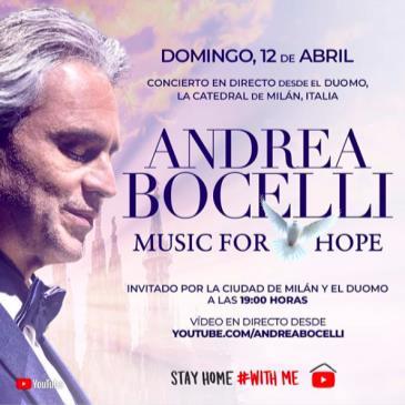 LIVE - ANDREA BOCELLI ONLINE