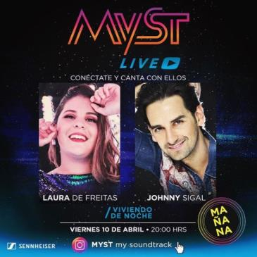 LIVE - JOHNNY SIGAL Y LAURA DE FREITAS ONLINE