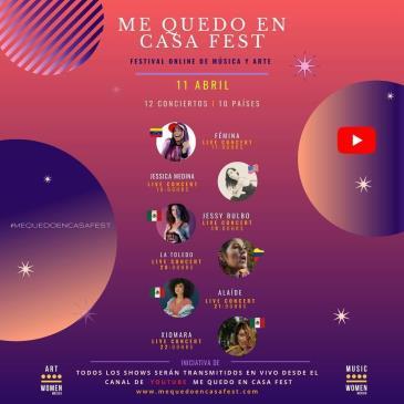 LIVE - ME QUEDO EN CASA FEST