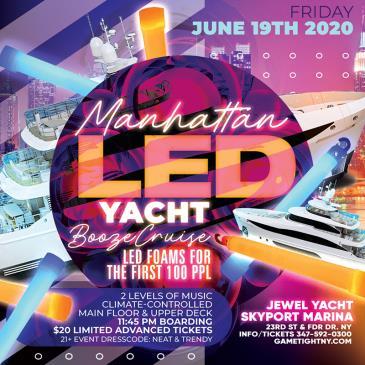 Manhattan LED Yacht Booze Cruise at Skyport Marina Jewel-img