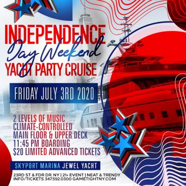 NYC Independence Day Weekend Yacht Party Cruise at Skyport-img